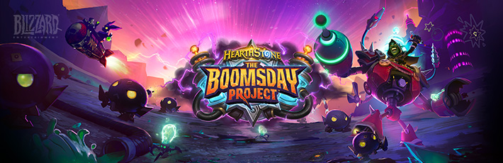 Blizzard Hearthstone - The Boomsday Project