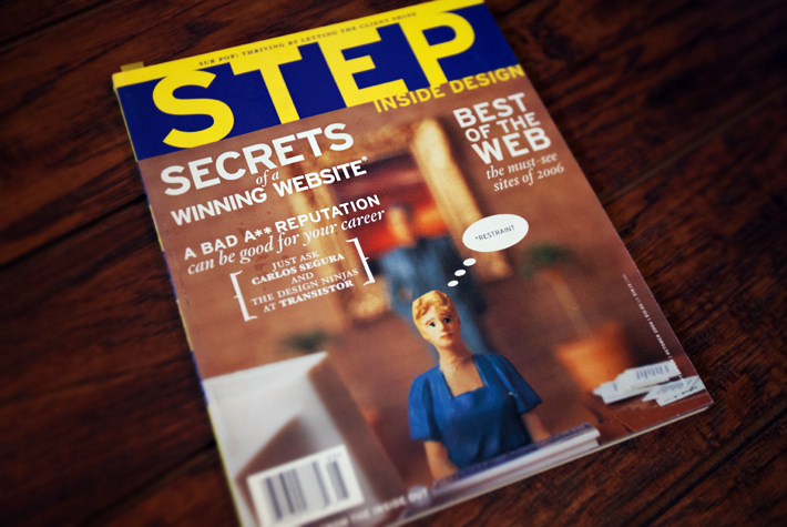 Step Into Design Magazine - 2006 Best of Web