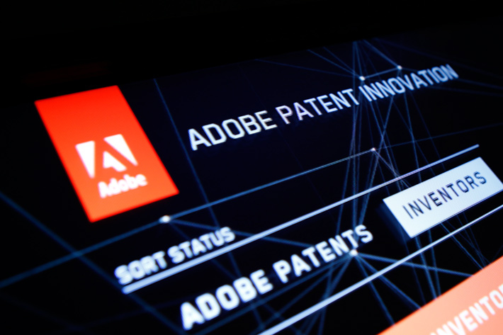 Adobe Patent Experience