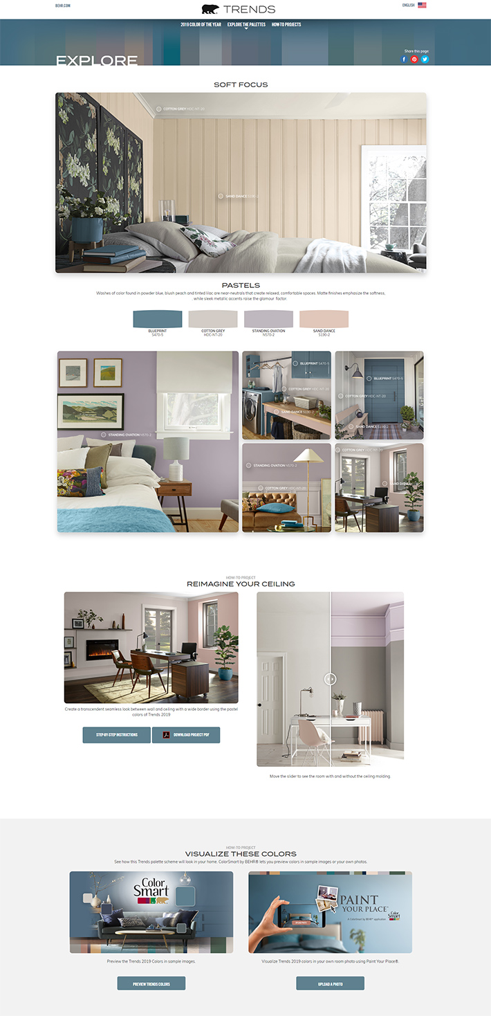 Behr 2019 Color of the Year