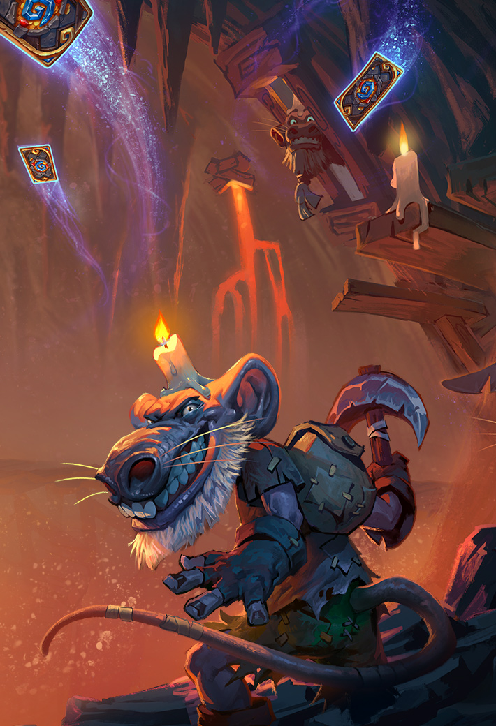 Blizzard - Hearthstone - Kobolds & Catacombs