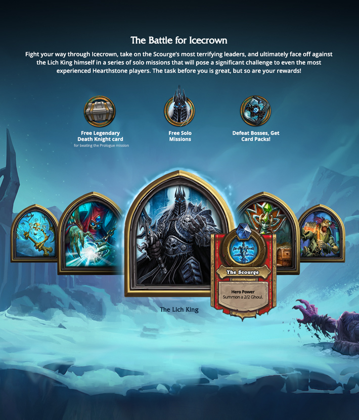 Blizzard - Hearthstone - Knights of the Frozen Throne