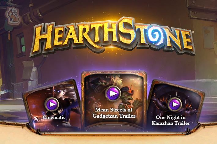 Blizzard - Hearthstone - Mean Streets of Gadgetzan