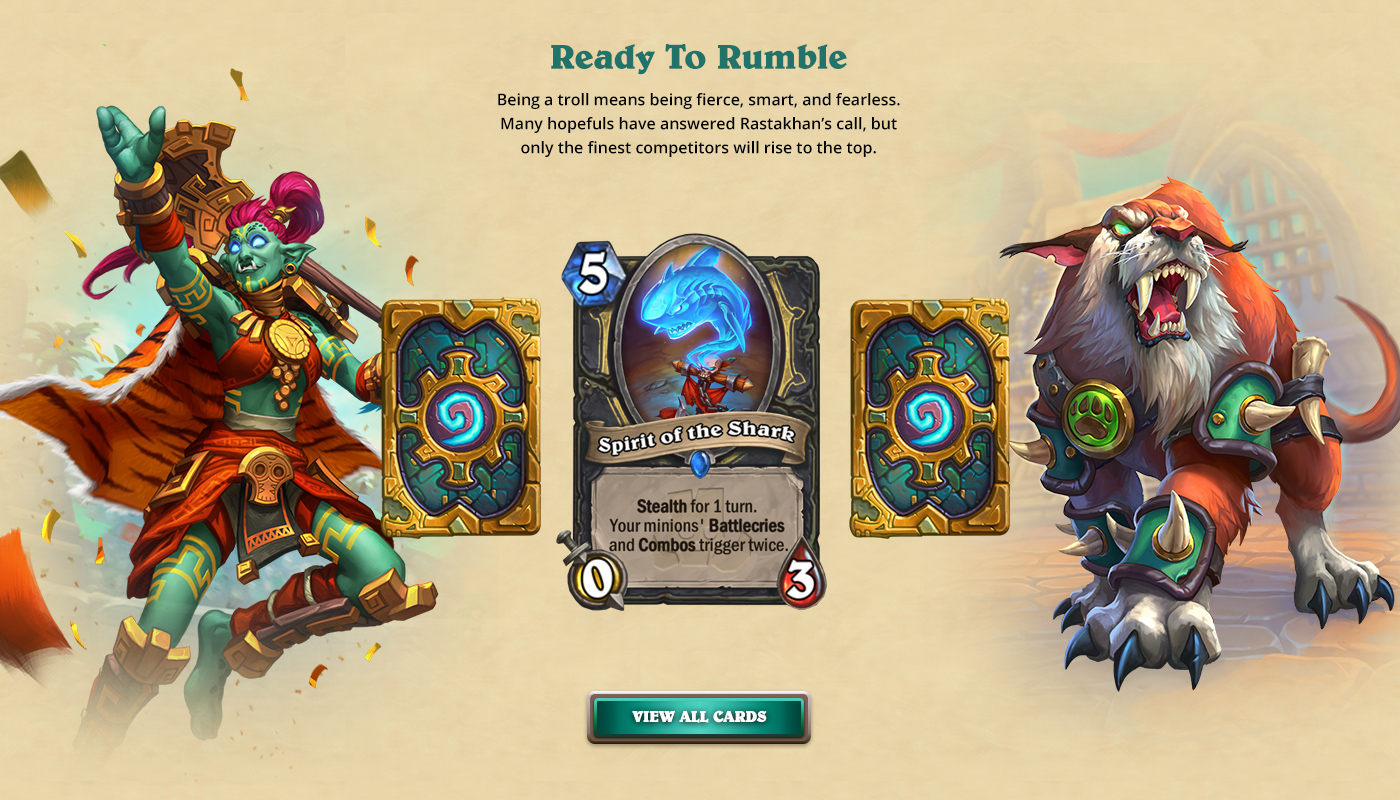 Blizzard - Hearthstone - Rastakhan's Rumble