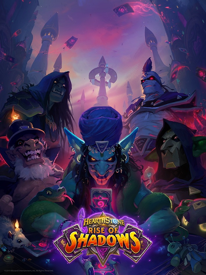 Blizzard - Hearthstone - Rise of Shadows