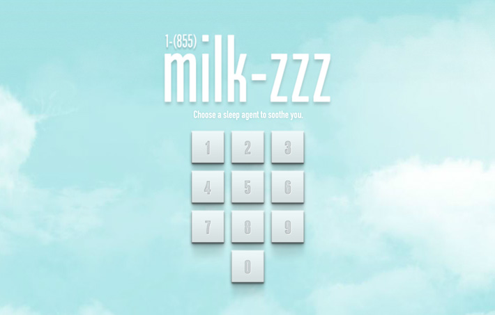 Got Milk? Sleep Agents
