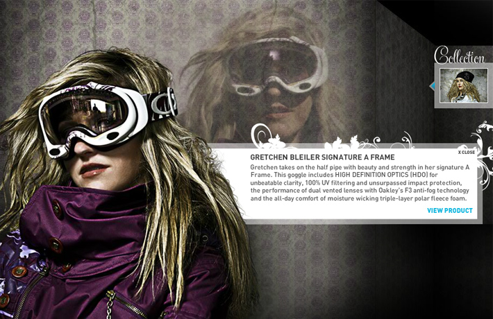 Oakley - Gretchen Bleiler Collection
