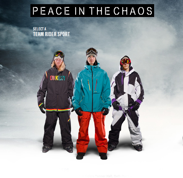Oakley - Peace in the Chaos