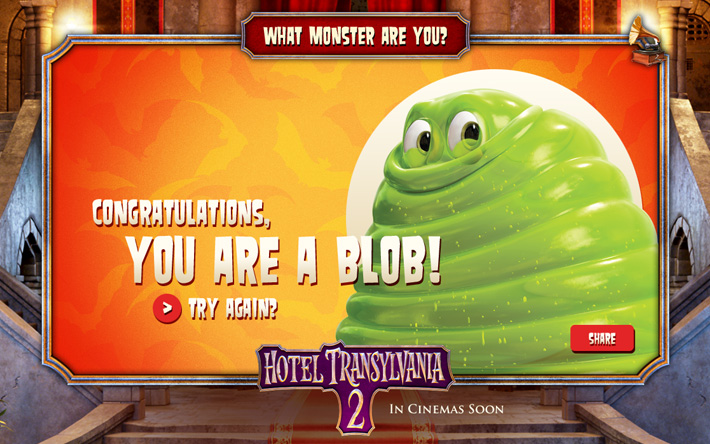 Hotel Transylvania 2: What Monster Are You?
