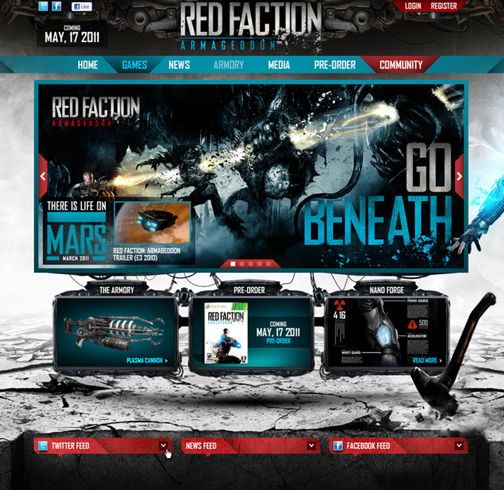 THQ - Red Faction: Armageddon
