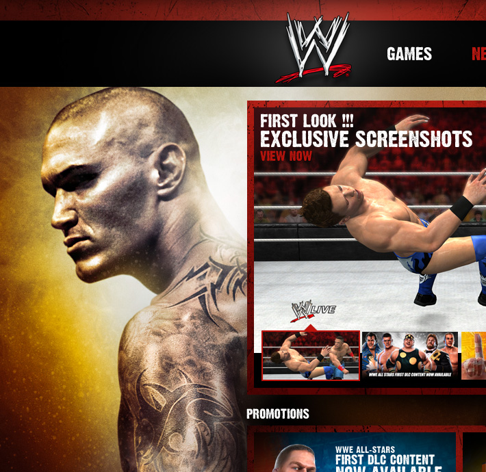 THQ - WWE Games
