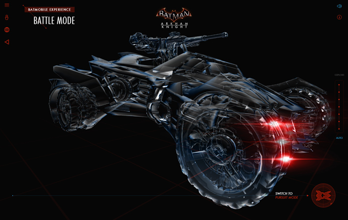 Batman: Arkham Knight Batmobile Experience