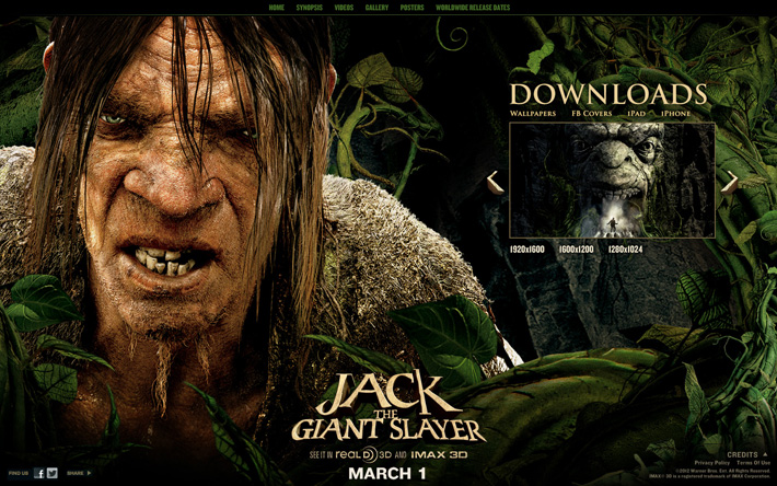 Jack the Giant Slayer Site