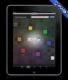 Behr Colorsmart iPad App