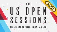 The US Open Sessions: Music Made With Tennis Data